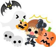 The halloween illustration Royalty Free Stock Photo