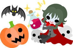 The halloween illustration Royalty Free Stock Images