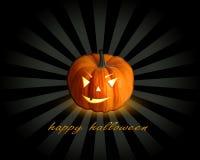 Halloween illustration with pumpkin. Halloween illustration with pumpkin a greeting Royalty Free Stock Photo