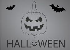 Halloween Illustration. Halloween pumpkin illustration Stock Image