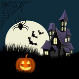 Halloween. Illustration representing the halloween atmosphere Stock Image