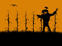 Halloween Illustration silhouette Royalty Free Stock Images