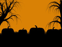 Halloween Illustration silhouette Royalty Free Stock Image