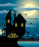 Halloween illustration. Stock Image