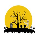 Halloween illustration vector Stock Photography