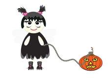 halloween illustrationvektor Royaltyfria Foton