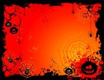 halloween illustrationvektor Arkivbilder