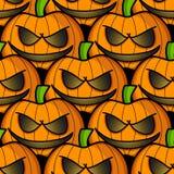 halloween ilustracyjne dynie zestaw wektora bezszwowy wzoru Obraz Royalty Free