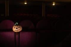 Halloween im Kino Stockbild