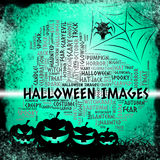 Halloween Images Means Trick Or Treat And Celebration Stock Photos