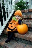 Halloween impaciente de espera Foto de Stock