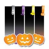 Halloween infographic Lizenzfreies Stockfoto