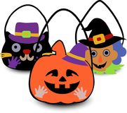 Halloween insacca il 2d royalty illustrazione gratis