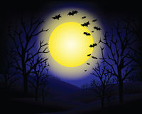 Halloween invitation Royalty Free Stock Photography