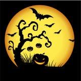 Halloween invitation card Royalty Free Stock Photo