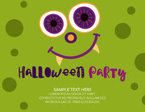 Halloween Invitation Template Royalty Free Stock Photo