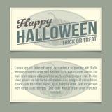 Halloween invitation Royalty Free Stock Photos