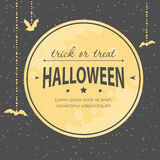 Halloween invitation Stock Photo