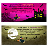 Halloween invitations. Royalty Free Stock Images