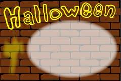 Halloween Invite. Stock Images
