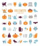 Halloween-inzameling Royalty-vrije Illustratie