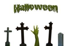 Halloween (isolated) Stock Image