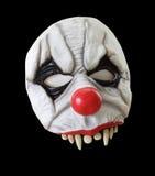 halloween isolerade den läskiga maskeringen Arkivfoto
