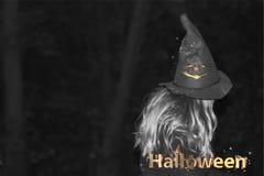 Halloween ist eine Zusammenfassung hell Stockfotos
