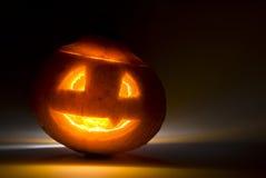 halloween jaśnienie dyniowy straszny Zdjęcie Stock
