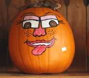 Halloween Jack 'O Lantern Royalty Free Stock Photos