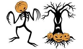 Halloween Jack lizenzfreie abbildung