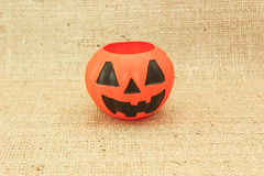 Halloween Jack The Lantern Pumpkin Royalty Free Stock Photo