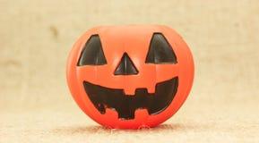 Halloween Jack The Lantern Pumpkin stock photo
