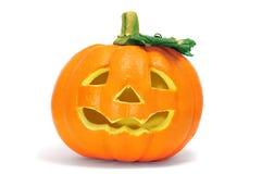 Halloween jack-o'-lantern Stock Photo