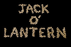 Halloween - Jack o' Lantern Stock Image