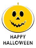 Halloween Jack-o-lantern. Illustration vector illustration