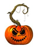 Halloween Jack O'Lantern Stock Photo