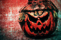 Halloween jack-o'-lantern background Royalty Free Stock Images