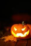 Halloween jack o' lantern background Stock Photos