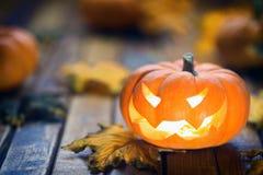 Halloween jack o` lantern. Background Royalty Free Stock Images
