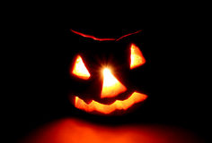 Halloween. Jack-o-lantern (pumpkin) Stock Photo