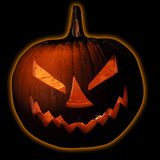 Halloween Jack-O-Lantern Pumpkin Royalty Free Stock Images