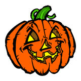 Halloween Jack O'Lantern Pumpkin Photos libres de droits
