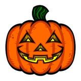 Halloween Jack O'Lantern Pumpkin Photo libre de droits