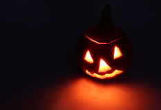 Halloween. Jack-o-lantern (pumpkin) Royalty Free Stock Images