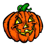 Halloween Jack O'Lantern Pumpkin Stock Image