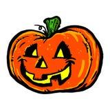 Halloween Jack O'Lantern Pumpkin Stock Photo