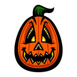 Halloween Jack O'Lantern Pumpkin Royalty Free Stock Photo