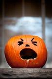 Halloween Jack-O-Lantern Royalty Free Stock Photos