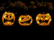 Halloween Jack o'lantern Stock Images